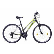 Neuzer X-Zero női Cross Kerékpár fekete/zöld-fehér