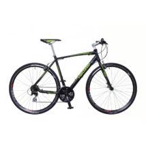 Neuzer Courier férfi Fitness Kerékpár fekete/zöld-szürke matt