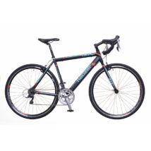 Neuzer Courier CX férfi Fitness Kerékpár fekete/türkiz- piros matt