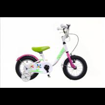 Neuzer BMX 12 lány Gyerek Kerékpár fehér/pink-zöld