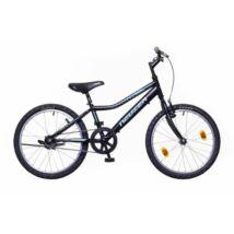 Neuzer Bobby 20 1s fiú Gyerek Kerékpár fekete/türkiz-zöld