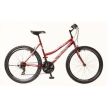 Neuzer Nelson 18 női Mountain Bike bordó/fehér-szürke