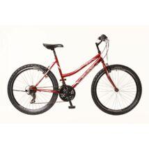 Neuzer Nelson 30 női Mountain Bike bordó/fehér-szürke