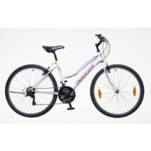 Neuzer Nelson 18 női Mountain Bike fehér-lila-rózsaszín