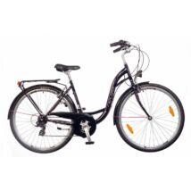 Neuzer Ravenna 30 női City Kerékpár fekete/pink-fehér