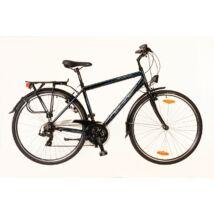 Neuzer Ravenna 50 Trekking Kerékpár fekete/cián- piros