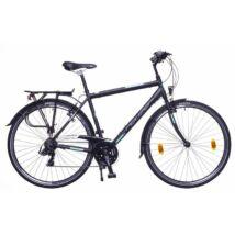 Neuzer Ravenna 50 férfi Trekking Kerékpár fekete/türkiz-szürke matt