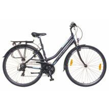 Neuzer Ravenna 50 női Trekking Kerékpár fekete/türkiz-szürke matt