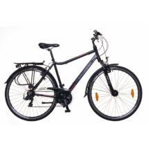 Neuzer Ravenna 100 férfi Trekking Kerékpár fekete/bordó-szürke