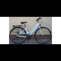 Neuzer Ravenna 50 női trekking kerékpár babyblue/rózsaszín szürke matt