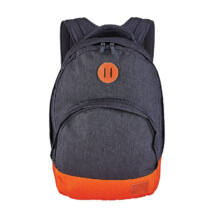 Nixon GRANDVIEW BACKPACK Hátizsák dark grey/orange