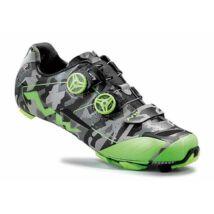 NORTHWAVE Cipő MTB EXTREME XC fényvisszaverős camo-zöld