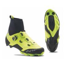 NORTHWAVE Cipő MTB RAPTOR ARCTIC GTX téli, fluo sárga/fekete
