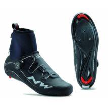 NORTHWAVE Cipő ROAD FLASH GTX téli, fekete
