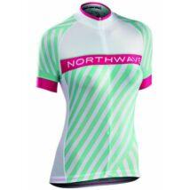 Northwave Mez Logo3 Wmn Női Rövid Fehér/Zöld