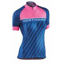 Northwave Mez Logo3 Wmn Női Rövid Pink Fluo/Kék