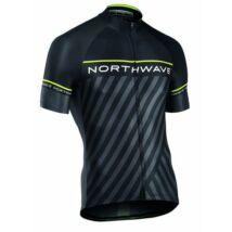 Northwave Mez Logo3 Rövid Fekete/Sárga Fluo
