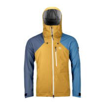 Ortovox 3L ORTLER JACKET M Snowboard kabát yellowstone