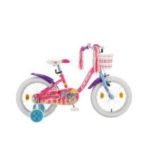 """Polar Junior 16"""" lány Gyerek Kerékpár icecream"""