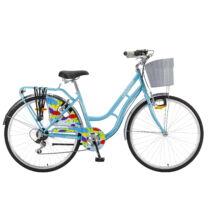 """Polar Grazzia 6-fokozat 26"""" női City Kerékpár kék"""