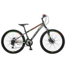 "Polar Sonic 26"" FS Disc férfi Mountain Bike antracit-szürke-piros"