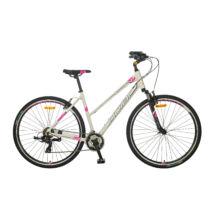 """Polar Athena 28"""" Női Cross Kerékpár ezüst/rózsaszín"""