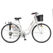 """Polar Grazzia 6-fokozat 28"""" női City Kerékpár fehér"""