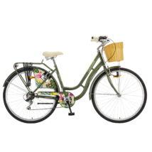 """Polar Grazzia 6-fokozat 28"""" női City Kerékpár oliva"""
