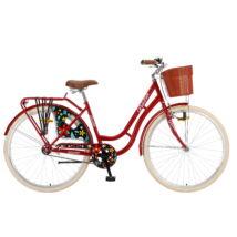 """Polar Grazzia kontrás 28"""" női City Kerékpár bordó"""