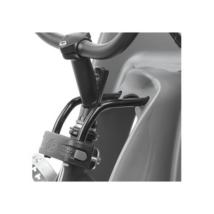 Polisport vázcső (22-40 mm) adapter előre - Guppy Mini/Bilby Junior/Bubbly Mini homlokcsőre szerelhető első gyerekülésekhez
