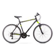 ROMET Orkan 2018 férfi Cross Kerékpár fekete/élénkzöld