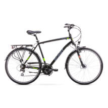 ROMET Wagant 2 Limited 2018 férfi Trekking Kerékpár fekete/élénkzöld