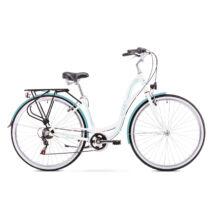 ROMET SONATA 1.0 2019 női City Kerékpár fehér-kék