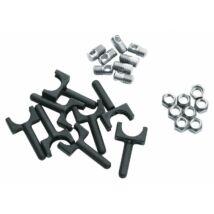 Sks-germany Sárvédőrögzítő Csavar/Anya/Záróvég Chromplastics/Longboardhoz
