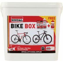 SOUDAL Kerékpáros doboz (szett:sampon PTFE kendők kulacs)