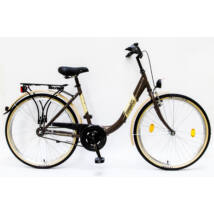 Schwinncsepel BUDAPEST B 26-18 GR 16 női City Kerékpár barna
