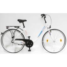 Schwinncsepel BUDAPEST B 28/19 GR 19 női City Kerékpár fehér