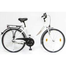 Schwinncsepel BUDAPEST A 26/17 GR 2020 női City Kerékpár fehér
