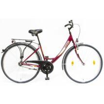 Schwinncsepel BUDAPEST A 28/17 GR 2020 női City Kerékpár bordó
