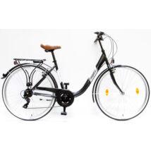 Schwinncsepel BUDAPEST B 28/19 7SP 16 női City Kerékpár matt fekete