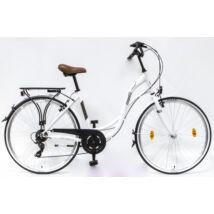 Schwinncsepel VELENCE 28/19 7SP 18 női City Kerékpár fehér