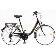 Schwinncsepel BUDAPEST B 26/18 7SP 90 LIMITÁLT női City Kerékpár fekete