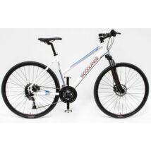 """Schwinncsepel WOODLANDS CROSS 700C 28"""" 2.1 27SP női Cross Kerékpár fehér"""