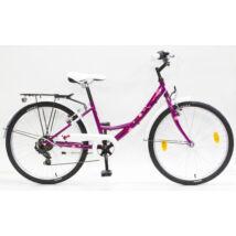 Schwinncsepel FLORA 24 6SP 17 Gyerek Kerékpár ciklámen