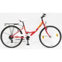 Schwinncsepel FLORA 24 6SP 20 Gyerek Kerékpár piros