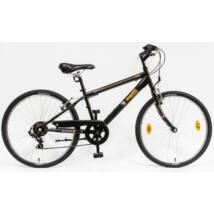 Schwinncsepel MUSTANG 24 6SP 20 Gyerek Kerékpár fekete