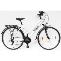 Schwinncsepel TRC 100 28/17 21SP 18 női Trekking Kerékpár fehér