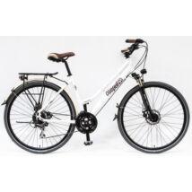 """Schwinncsepel TRC 300 28"""" 24SP AGYDIN 18 női Trekking Kerékpár fehér"""