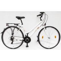 Schwinncsepel LANDRIDER 28/17 90 21SP LIMITÁLT női Trekking Kerékpár fehér