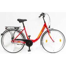 Schwinncsepel BUDAPEST B 26/18 N3 19 női City Kerékpár piros